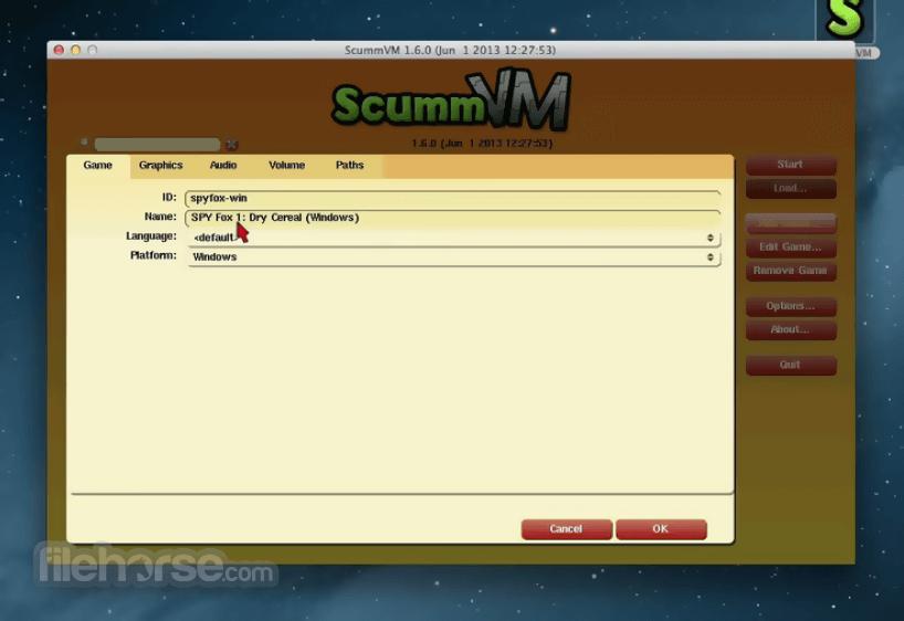 ScummVM 2.2.0 Captura de Pantalla 2