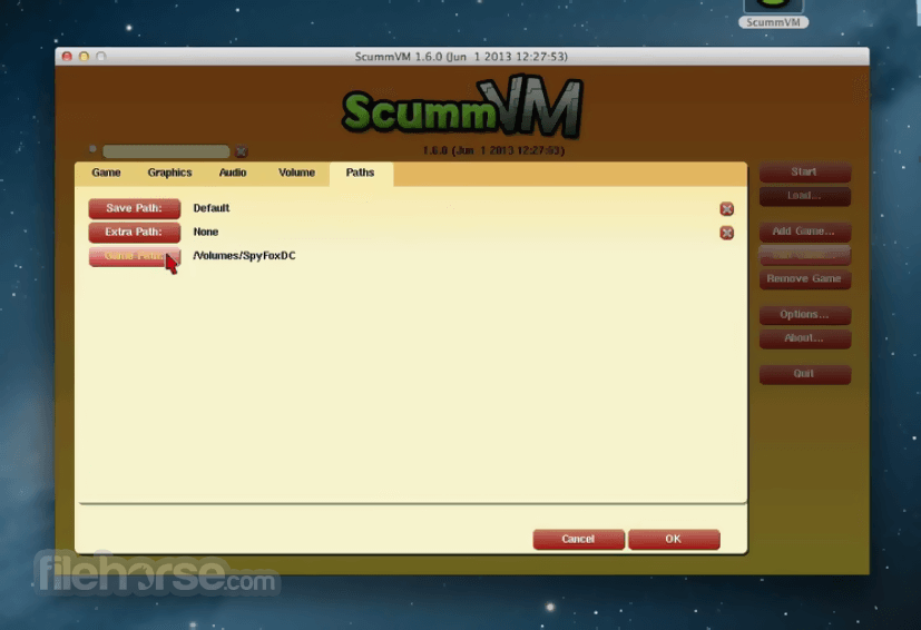 ScummVM 2 0 0 Download for Mac / Change Log / FileHorse com
