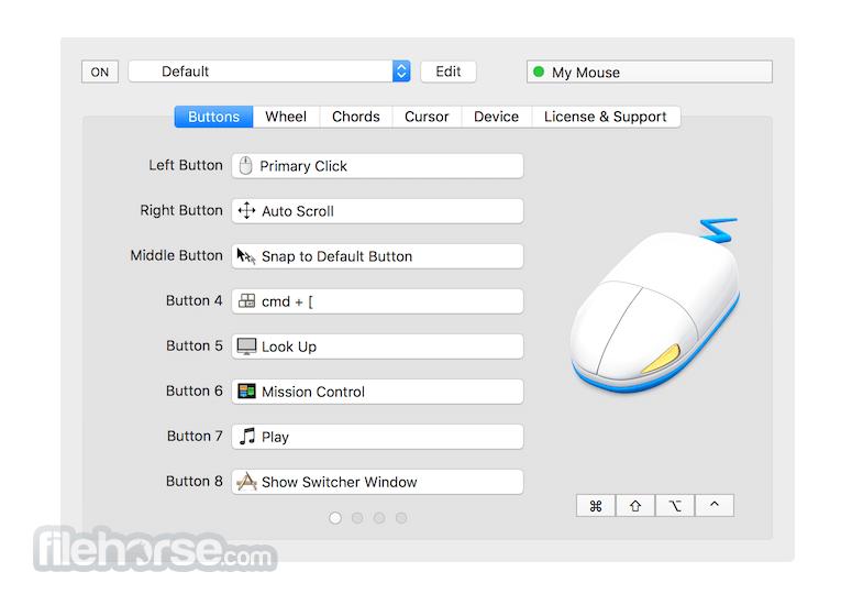 SteerMouse 5.3.7 Screenshot 1