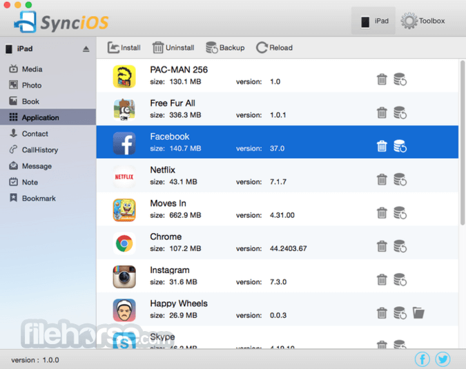 Syncios 1.0.1 Screenshot 2