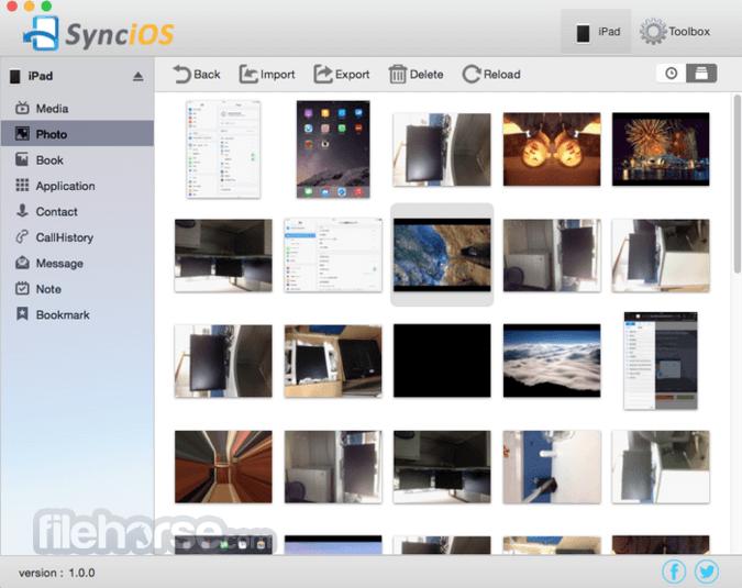 Syncios 1.0.8 Captura de Pantalla 5