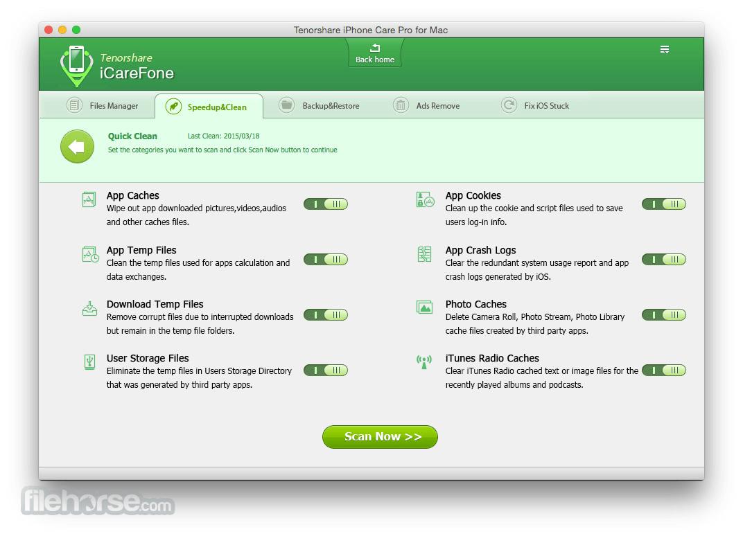 Tenorshare iCareFone 6.2.0 Screenshot 3