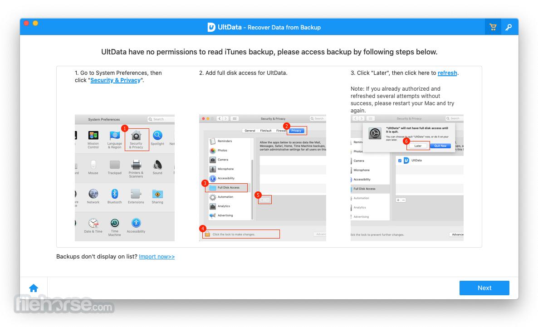 Tenorshare UltData iOS 9.3.0 Screenshot 2