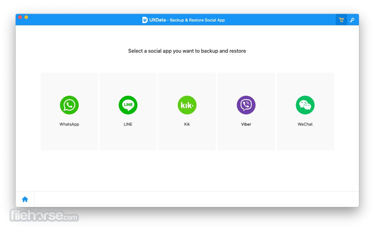 Tenorshare UltData iOS 9.3.0 Screenshot 5