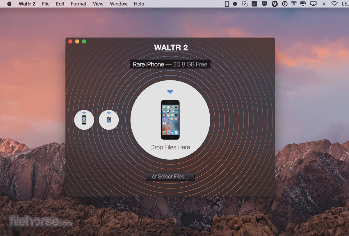 WALTR for Mac 2.6.27 Captura de Pantalla 1