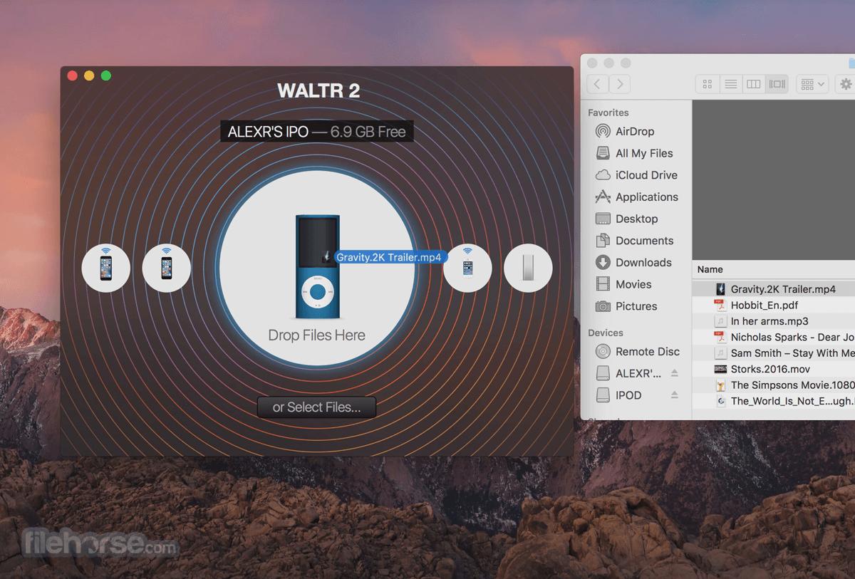 WALTR for Mac 2.6.27 Captura de Pantalla 2