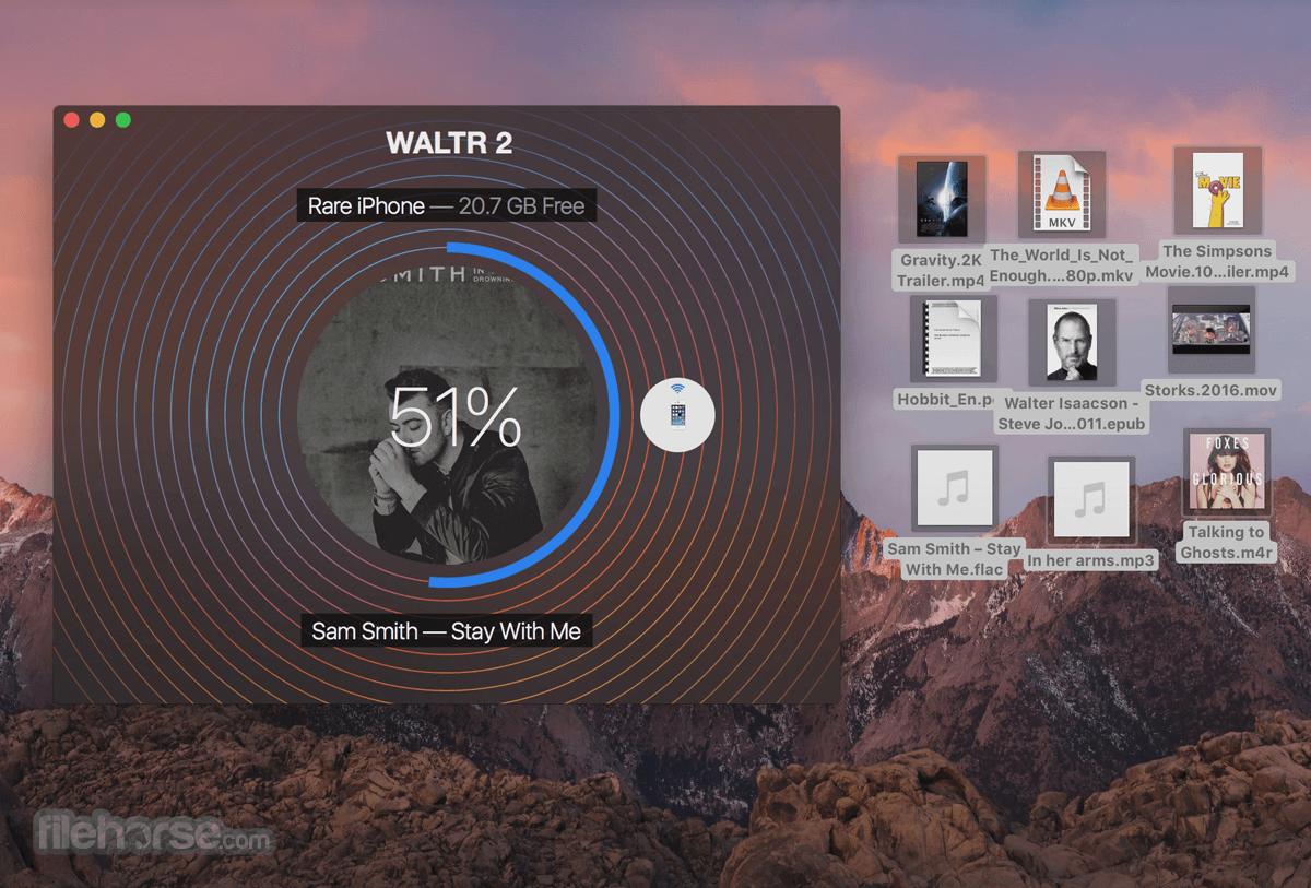WALTR for Mac 2.6.27 Captura de Pantalla 3