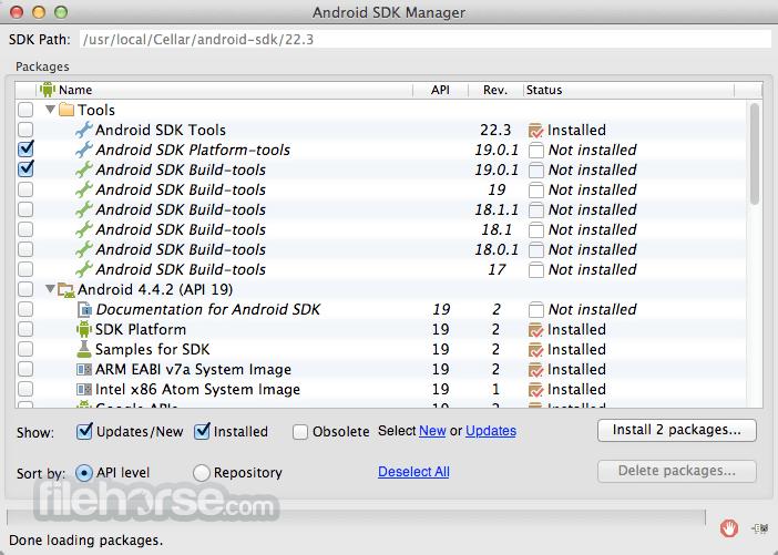 Android SDK 30.0.4 Screenshot 2
