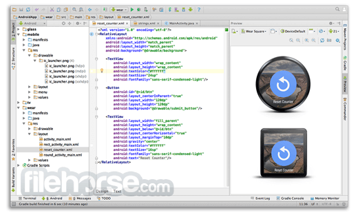 Android Studio 4.1.3 Captura de Pantalla 3