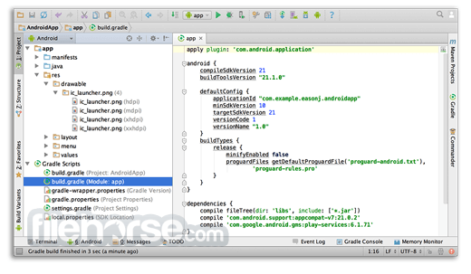 Android Studio 4.1.3 Captura de Pantalla 5