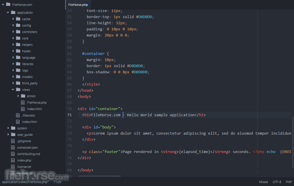 Atom 1.35.1 Screenshot 2