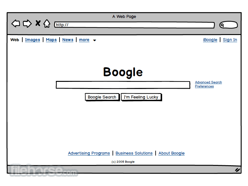 Balsamiq Mockups 3.2.3 Screenshot 3