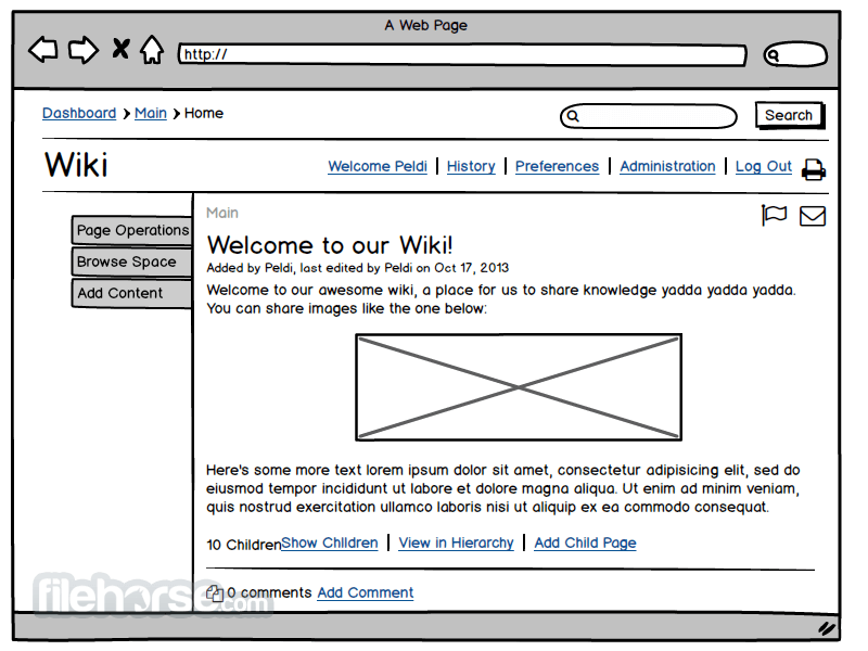 Balsamiq Mockups 3.4.5 Screenshot 5