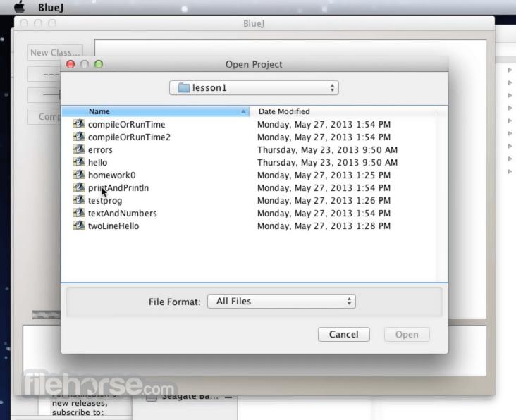 BlueJ 4.0.1 Screenshot 2