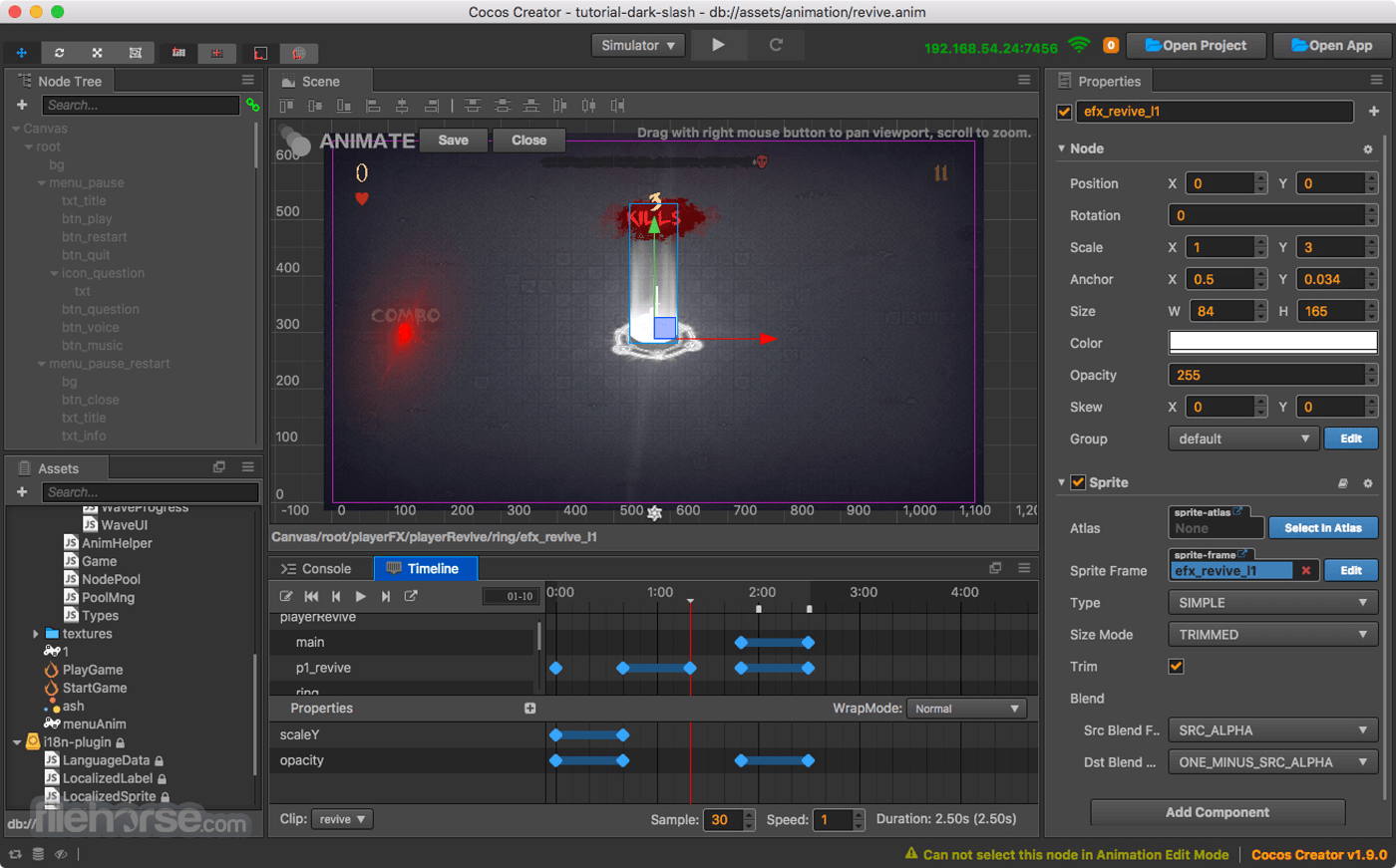 Cocos Creator 2.4.2 Screenshot 1