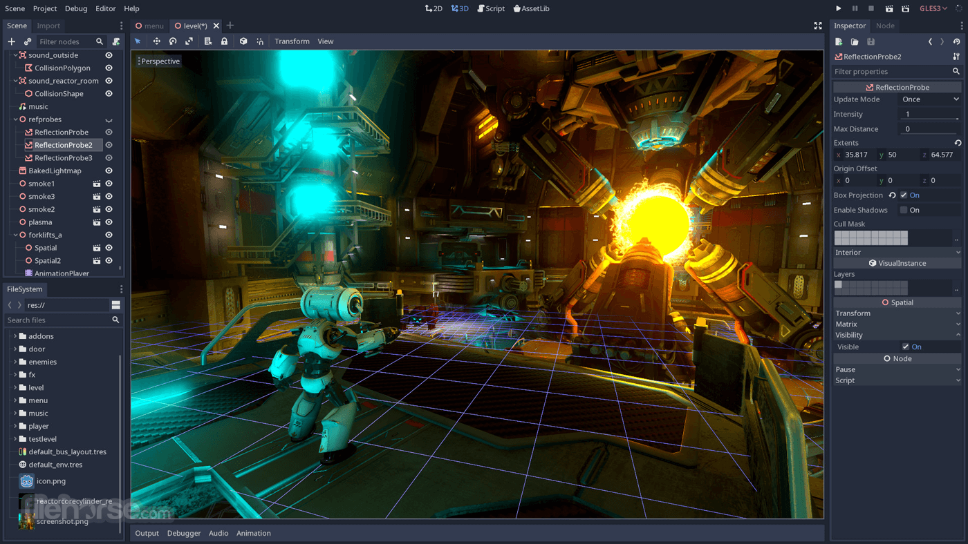 Godot Engine 3.2.2 Screenshot 1