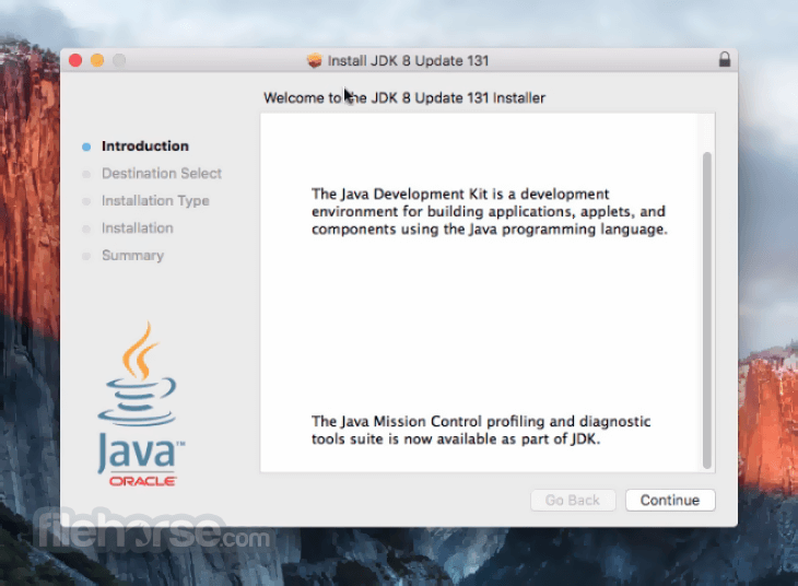 Java JDK 8 Update 121 Captura de Pantalla 1