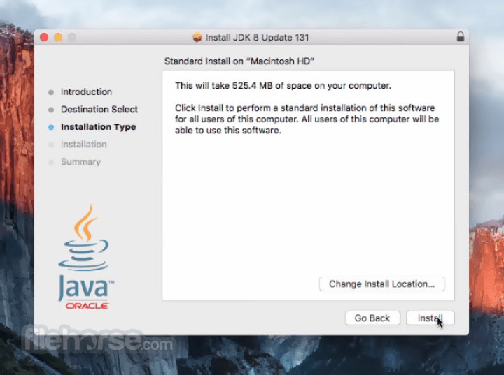 Java JDK 8 Update 121 Captura de Pantalla 3