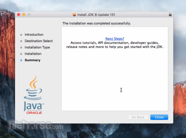 Java JDK 8 Update 121 Captura de Pantalla 5