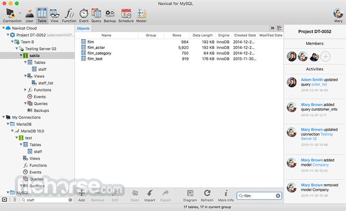 Navicat for MySQL 12.0.16 Screenshot 3