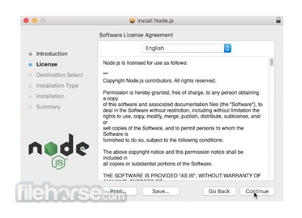 Node.js 16.3.0 Screenshot 1