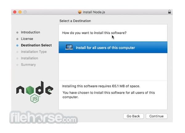 Node.js 16.3.0 Screenshot 2