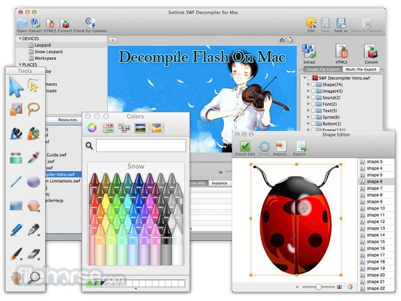 FAQ von SWF Decompiler Mac, Flash Decompiler Mac, SWF ...