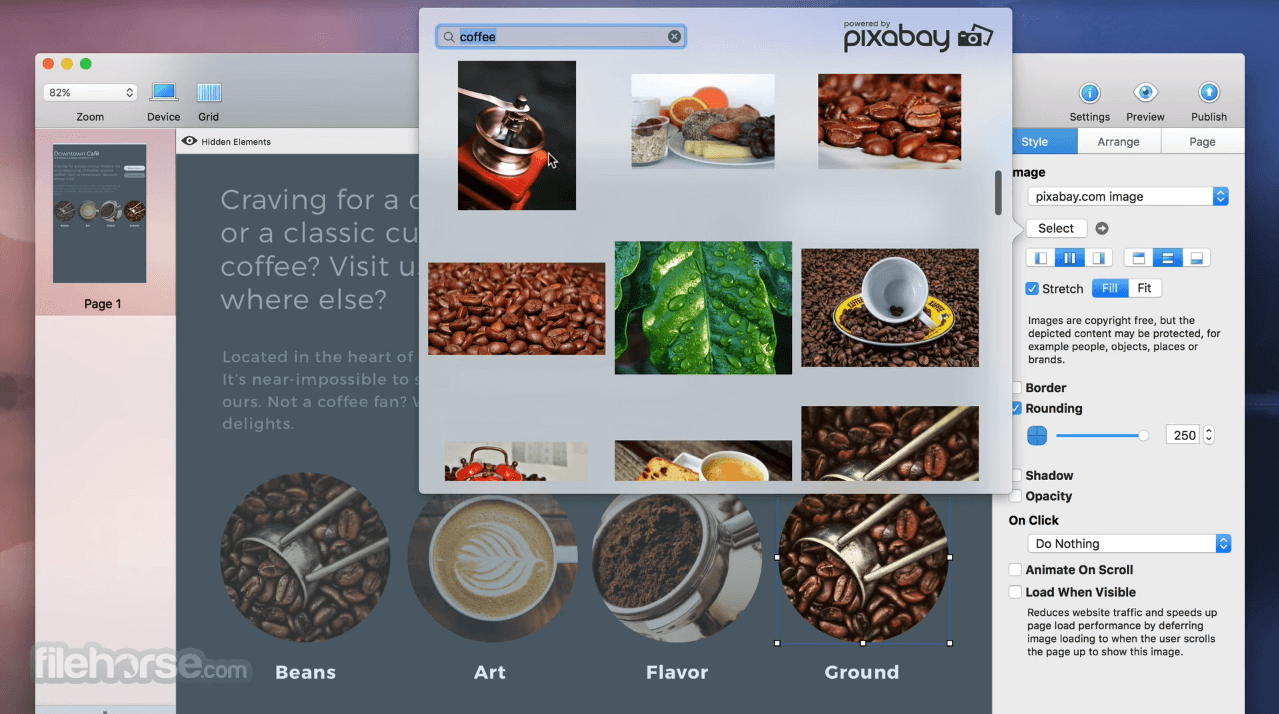 Sparkle Pro 3.0.6 Screenshot 1