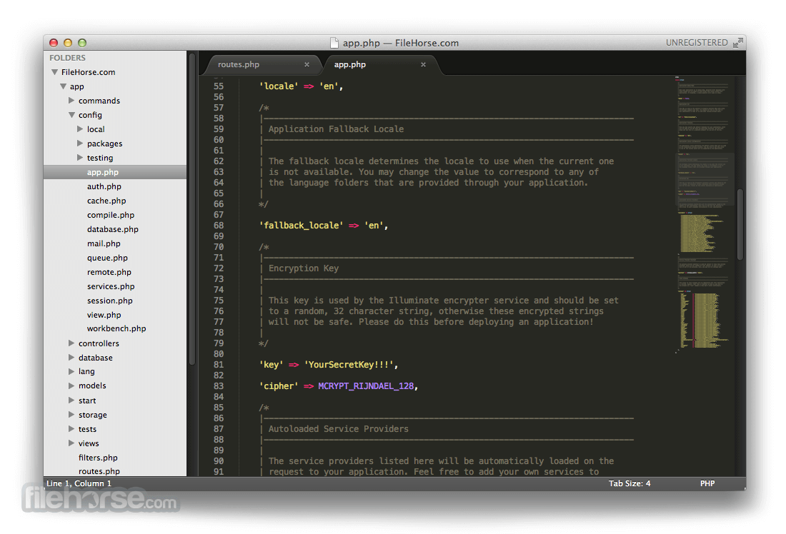 Sublime Text 3176 Screenshot 1