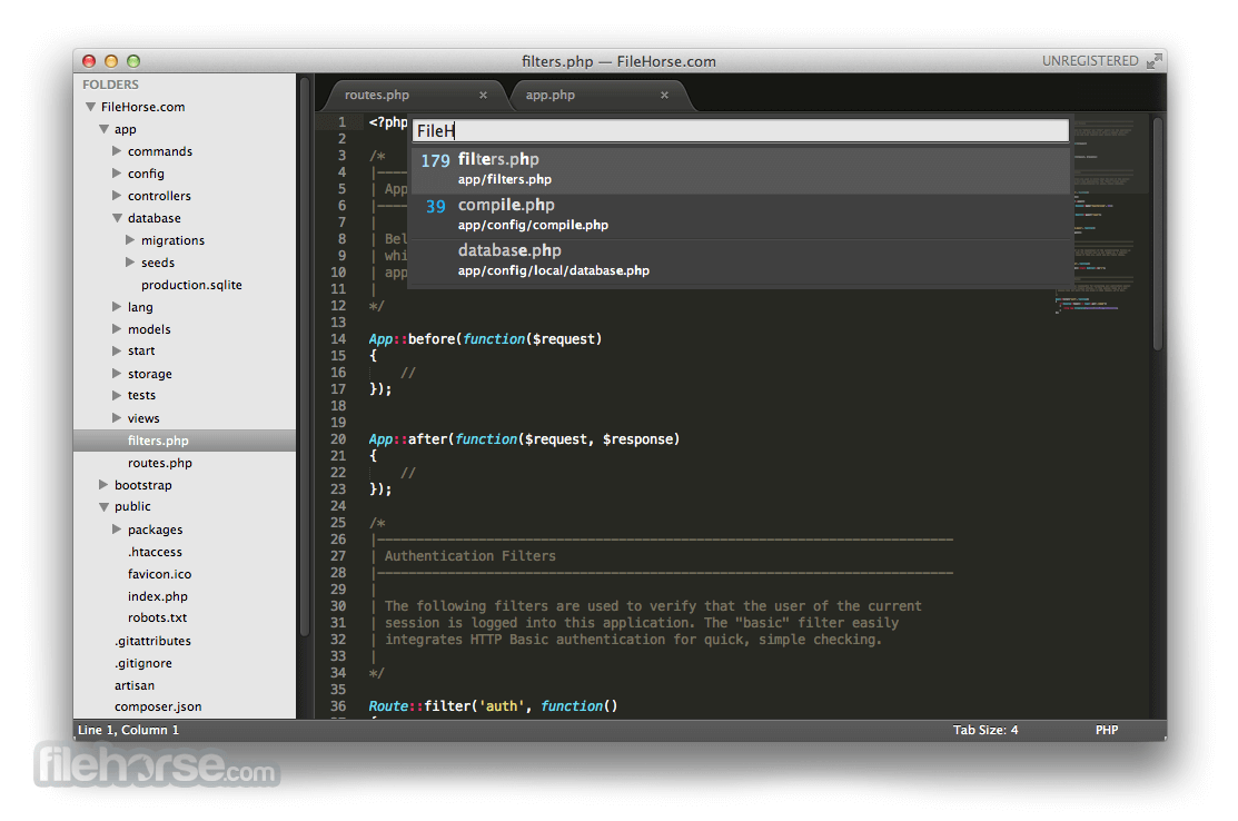 Sublime Text 3176 Screenshot 4