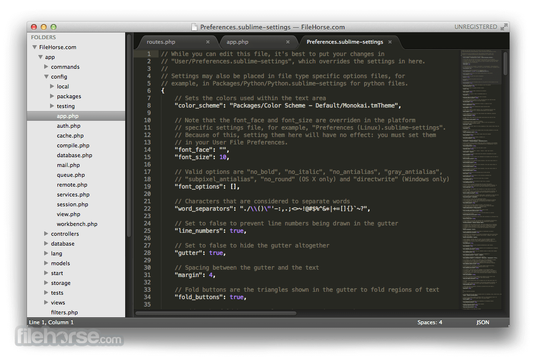 Sublime Text 3176 Screenshot 5
