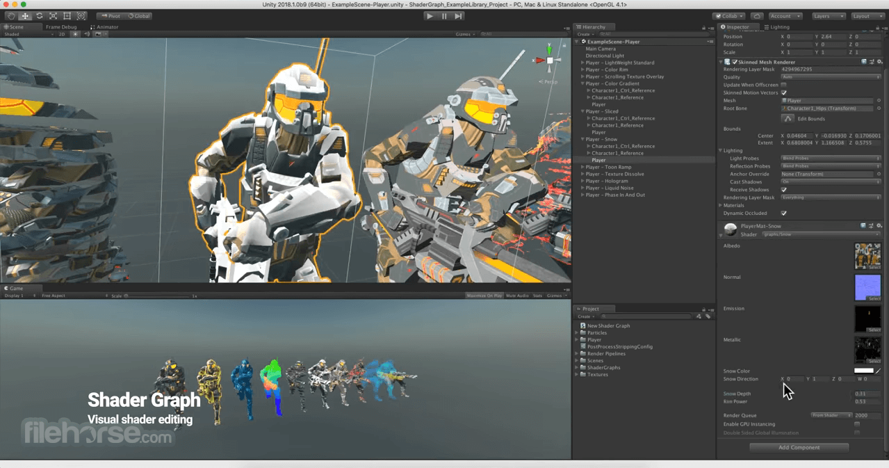 Unity for Mac 5.1.2 Captura de Pantalla 1