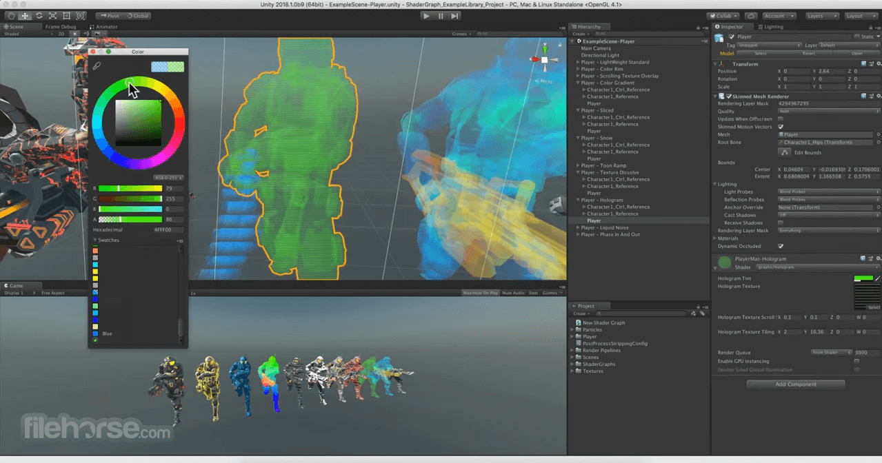 Unity 4.3.4 Screenshot 2