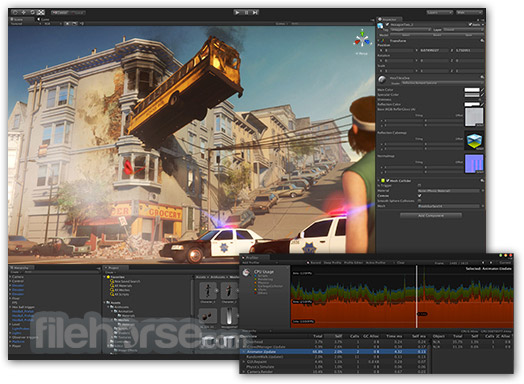 Unity for Mac 5.6.1 Captura de Pantalla 1