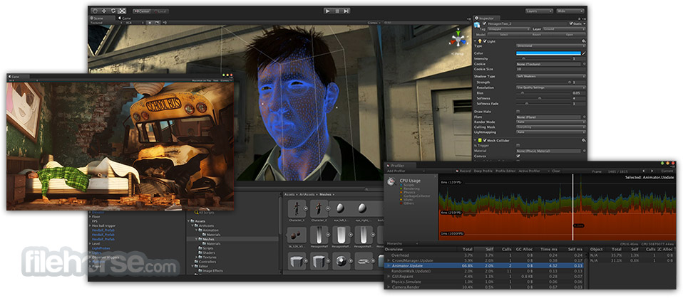 Unity for Mac 5.5.2 Captura de Pantalla 2