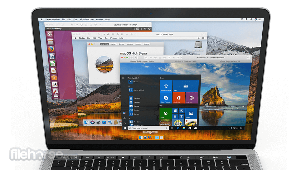 VMware Fusion 10.1.1 Build 7520154 Screenshot 2