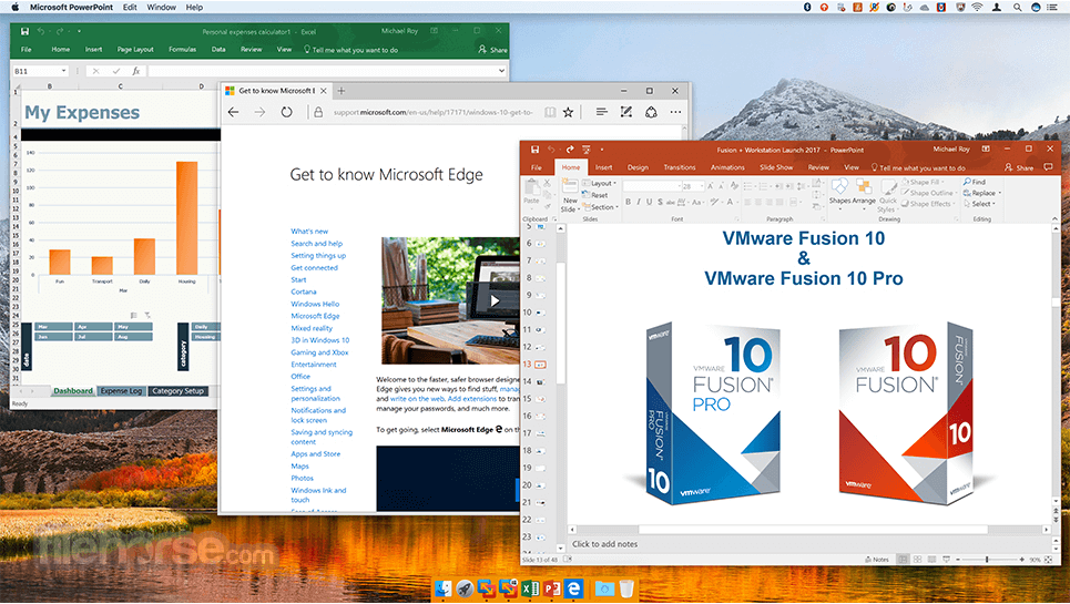 VMware Fusion 10.1.0 Build 7370838 Screenshot 4