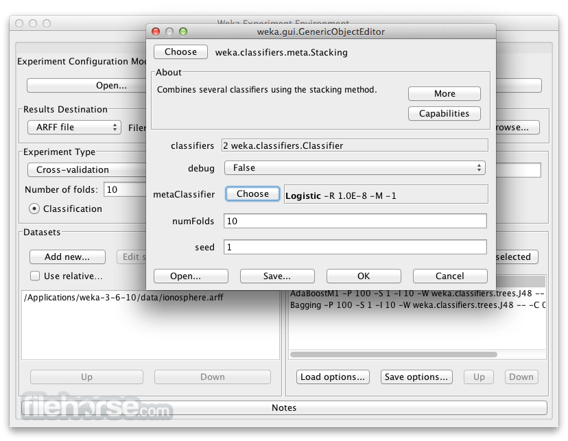 Weka 3.9.0 Screenshot 3
