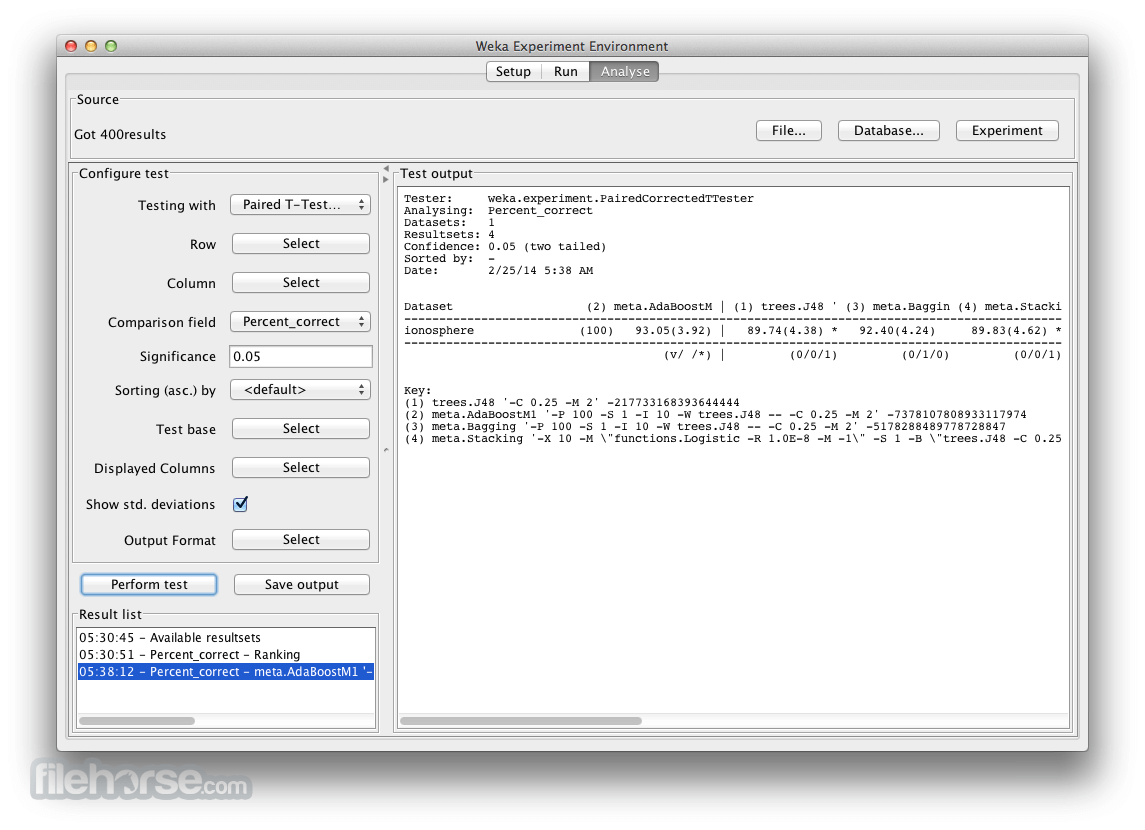 Weka 3.9.0 Screenshot 4