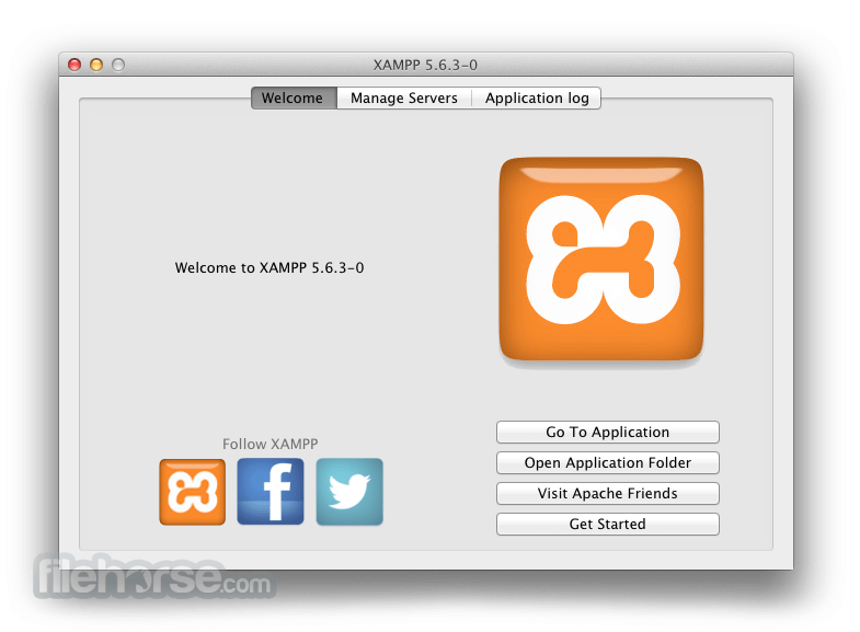 XAMPP 5.5.34 Screenshot 1