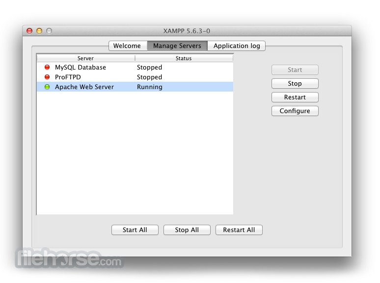 XAMPP for Mac - Download Free (2019 Latest Version)