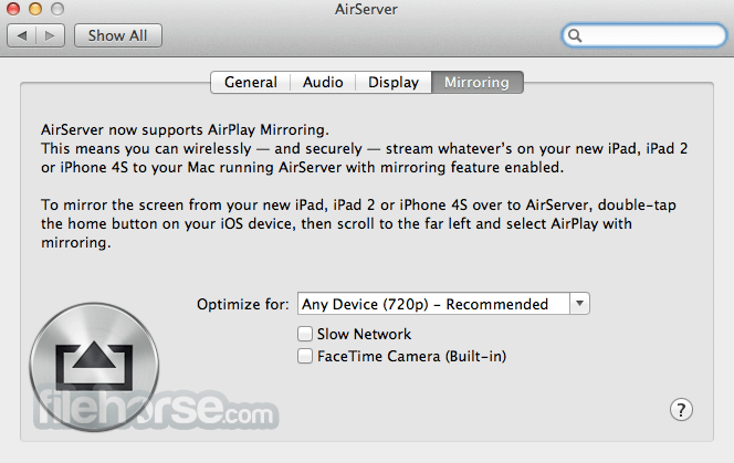 AirServer 7 1 2 for Mac - Download Free / FileHorse