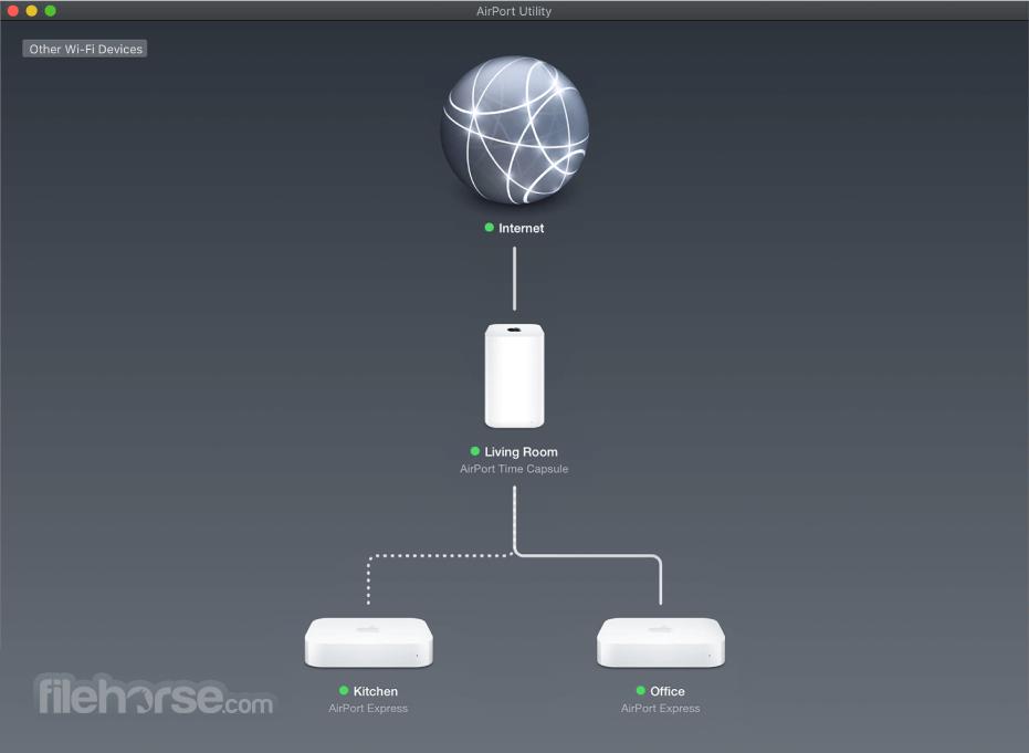 AirPort Utility 6.3.1 Screenshot 1