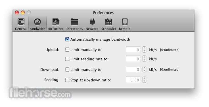 BitTorrent 4.1.2 Screenshot 3