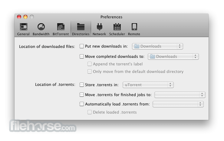 BitTorrent 7.3.1 Screenshot 4