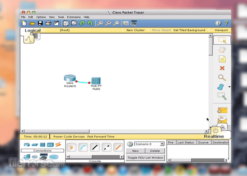 Cisco Packet Tracer 7.3.0 Screenshot 2