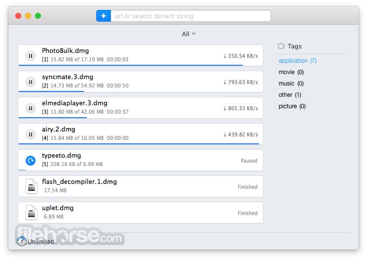 Folx 5.5.1372 Screenshot 5