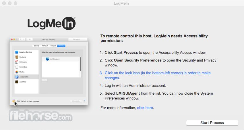 Logmein mac client