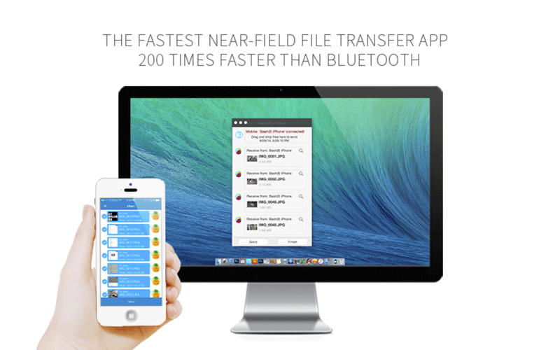 SHAREit for Mac 0.9.0 Screenshot 2
