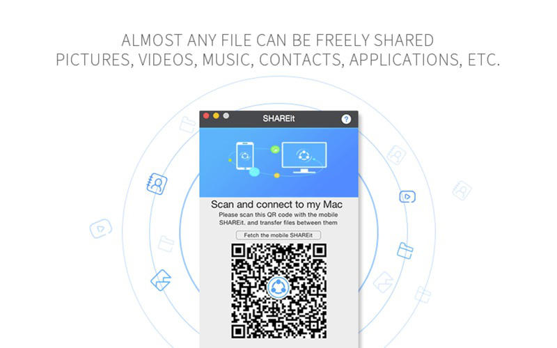 SHAREit for Mac 0.9.0 Screenshot 3